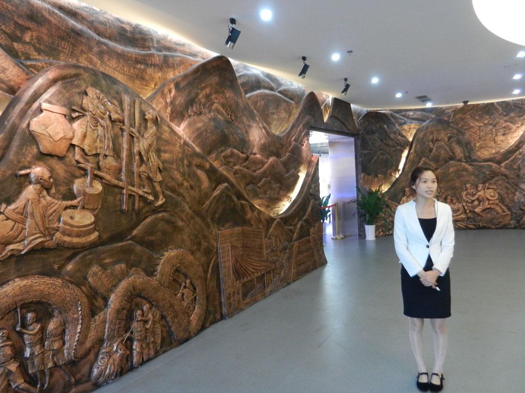 走进泸州城市规划展览馆